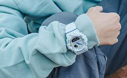 Casio卡西欧防水石英机芯玻璃大表盘运动手表男腕表