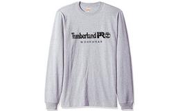 Timberland PRO纯棉简约字母印花长袖T恤
