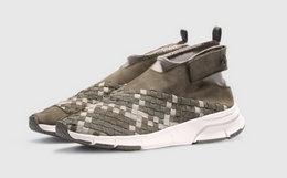 足下工业 FOOT INDUSTRY Fly 4.5 休闲运动鞋 迷彩绿