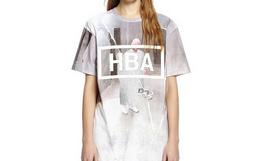用券优惠!美潮 HBA 高街潮牌复古碎裂监狱T恤 HB52019043
