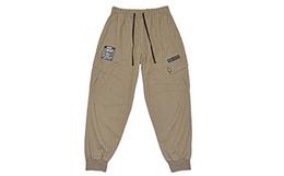 新品7折!PONY/波尼腰部系带标签logo束脚裤男休闲裤