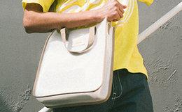 5.6折!Dickies 透明PU材质贴标logo男女单肩手提包