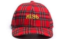 新品!MLGB Gulag系列绣花Logo格子弯檐帽 三色可选