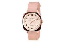 新品8.6折!法国Briston别致系列玳瑁粉色运动手表