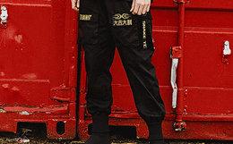 小幅优惠!陈赫TIANC BRAND x Snake战队联名款魔术贴工装束脚裤