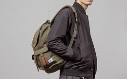 5折!Herschel立体袋印花男女多型号双肩包背包