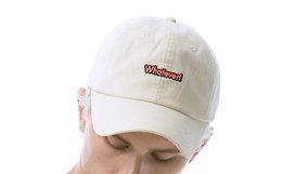5折!Nic Whatever系列Logo刺绣灯芯绒男女棒球帽