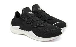 新品!Y-3松紧系带网面拼接男女同款中帮运动休闲鞋