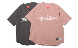 新品!ABSURD LOGIC 荒诞逻辑美式复古宽松棒球衬衫
