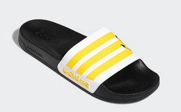 8.3折!adidas neo 宝可梦联名系列卡通图案男女拖鞋