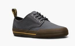 8折!Dr.Martens马汀博士4孔系带帆布板鞋男休闲鞋