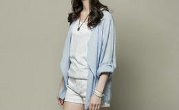 林允儿代言韩国H:CONNECT女装16新款翻领衬衫外套