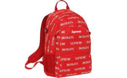 Supreme 16fw 3M Reflective Repeat Backpack双肩包