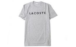 4.3折!Lacoste拉科斯特鳄鱼logo胶印男士短袖T恤