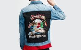 用券优惠!Lilbetter 2018SS刺绣贴布牛仔夹克外套