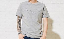 6折!EDWIN 爱德恩纯色3M反光印花男短袖圆领T恤