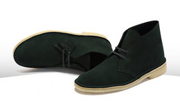 3.8折!clarks 其乐反毛皮复古系带高帮英伦男鞋沙漠靴