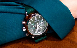 310元劵!Briston石英防水银圈强化玻璃运动腕表男女手表