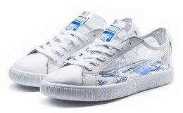 新品9折!PUMA×SHANTELL联名款透明塑料涂鸦板鞋
