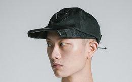 OUTERSPACE太空设计夜膺机能扣帽拼接平沿棒球帽