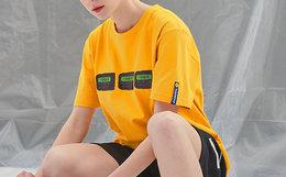 9.2折!THE WIZ复古BB机今晚蹦迪嘻哈街头男女短袖T恤