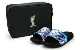 5折!Chillax×Comback联名款球鞋袋套装海浪迷彩沙滩拖鞋