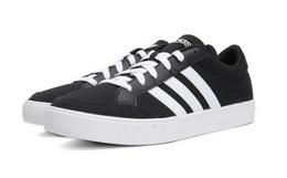 5.3折!adidas阿迪达斯纯色系带三道杠休闲男子板鞋