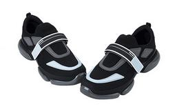 新品5折!Prada/普拉达魔术贴拼接男户外运动鞋
