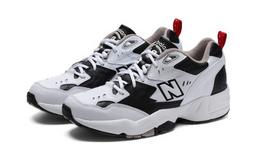 新品!New Balance 新百伦拼接撞色复古老爹鞋男运动鞋