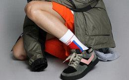 新品6.3折!波尼/Pony拼接系带男女加绒运动鞋板鞋