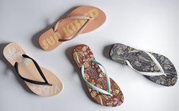 新品6折!美国Reef 2018SS民族风花色沙滩人字拖凉鞋