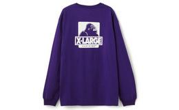 8折!美潮XLARGE大猩猩logo印花男士宽松针织T恤