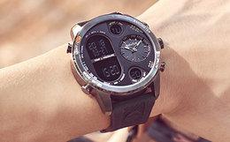 新品6.5折!Timberland添柏岚智能电子大表盘多功能运动手表