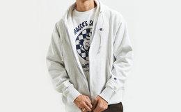 小幅优惠!Champion冠军UO合作小标连帽卫衣男外套