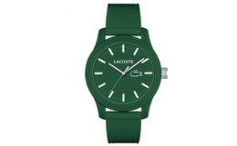 特惠!美国梅西百货香港直邮Lacoste男士绿色石英手表