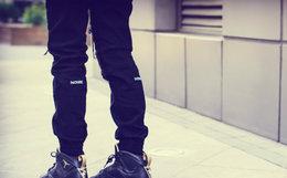 【新品】NOISE 刀割破坏Jogger Pants束脚裤406140109