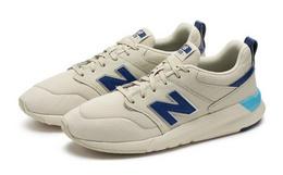 8.6折!New Balance 009系列麂皮网面拼接男女运动鞋