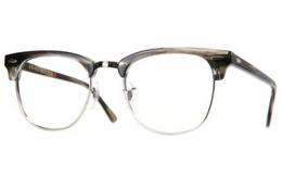 1.8折!么么镜手工文艺半框眼镜男女近视镜架