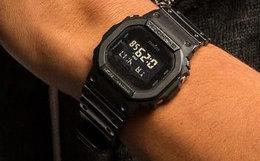 日本G-SHOCK卡西欧方块防水复古运动手表