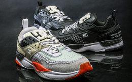 新品用券!DC联名三原康裕皮革拼接透气运动鞋跑步鞋 限量款