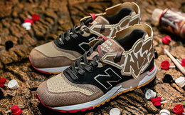 联名新品!New Balance x DEAL x 400ml 997.5福禄寿喜跑鞋