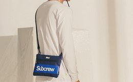 新品9.2折!SubcrewBox Logo系列撞色斜挎包男单肩包