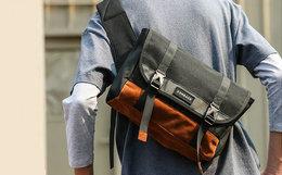 新品6.6折!COMBACK双色拼接骑行斜挎单肩背包