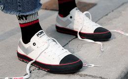 新品7.7折!PONY波尼经典Shooter低帮运动帆布鞋