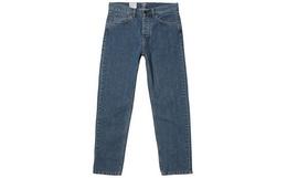 新品!Carhartt wip直筒水洗棉布复古男牛仔长裤
