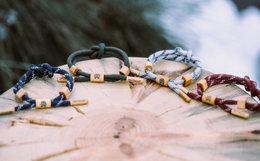 RASTACLAT小狮子北欧系列绳结鞋带手链