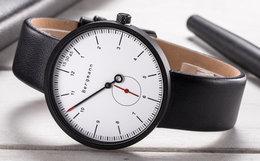 6.7折!德国Bergmann贝格曼创意简约大表盘石英手表