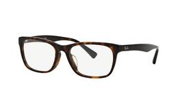 6折!Rayban雷朋玳瑁色方形全框中性款眼镜架