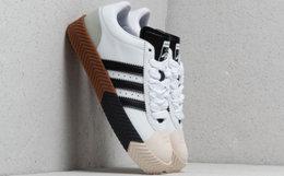 Alexander Wang x Adidas联名撞色圆头系带男板鞋