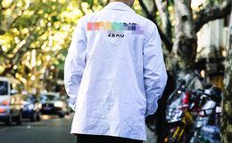 7折!美潮SSURPLUS恶搞彩虹系列Rainboe教练夹克外套